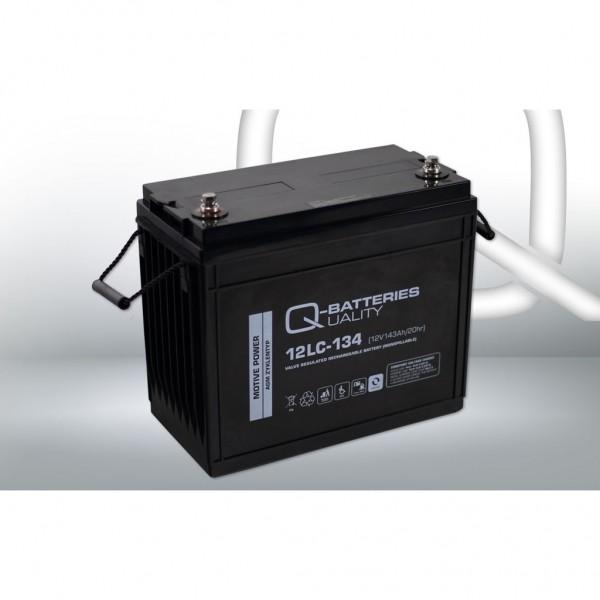 Batería Qbatteries Agm Deep Cycle Battery 12LC-134. Tecnología AGM. 12V - 143Ah (340x173x280mm)