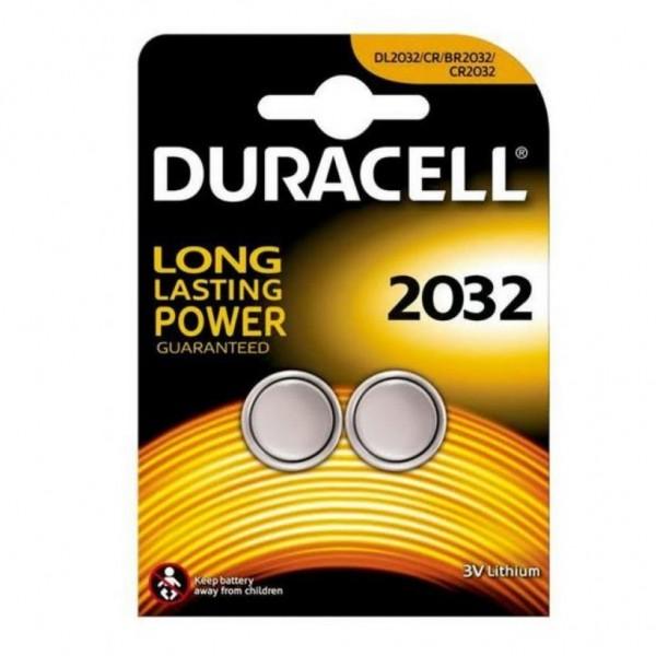 Pila Duracell Cr2032 - 2 Ud 3V