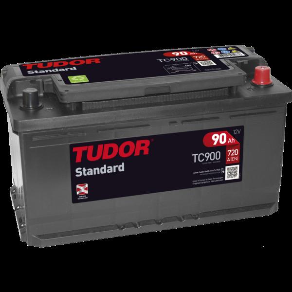 Batería Tudor TC900. 12V - 90Ah/720A (EN) Caja L5 (353x175x190mm)