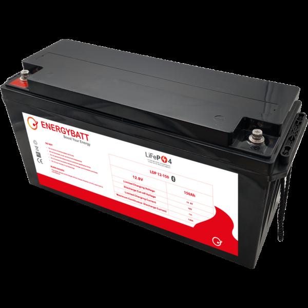 Batería Energybatt Litio (Lifepo4) LDP12-150EB. 12,8V - 150Ah (483x170x240mm)