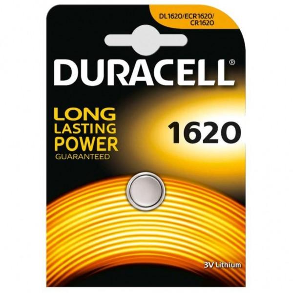Pila Duracell Cr1620 - 1 Ud 3V