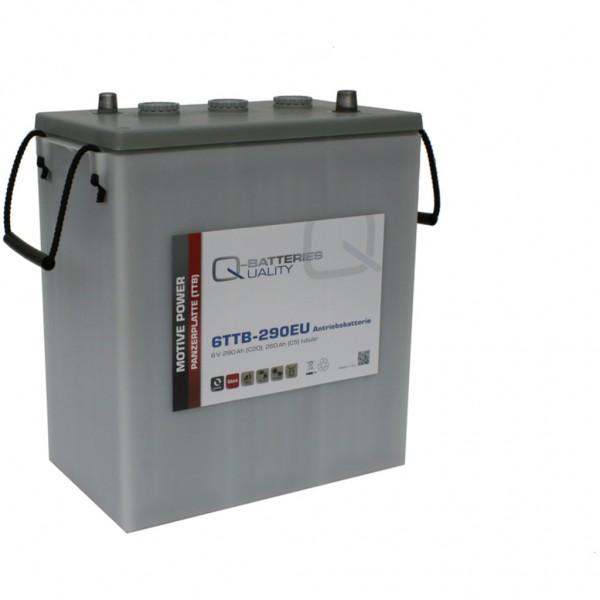 Batería Qbatteries Tubular Plate Battery 6TTB-290EU. 6V - 290Ah (311x181x360mm)