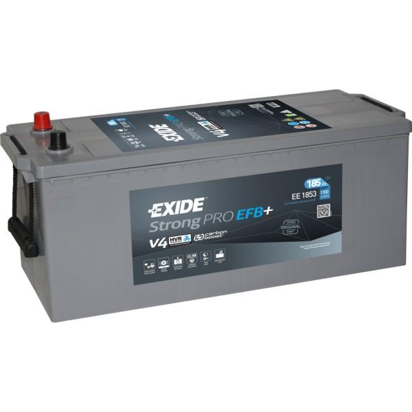 Batería Exide Strong Pro EE1853. 12V - 185Ah/1100A (EN) Caja B (513x223x223mm)