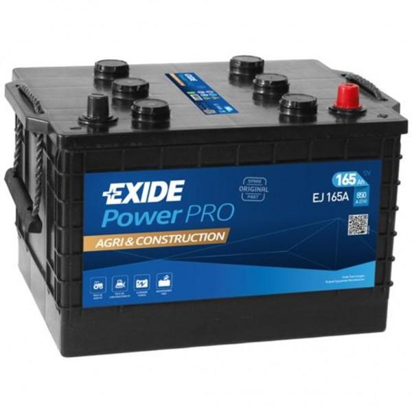 Batería Exide Start Pro EJ165A1. 12V - 165Ah/850A (EN) (354x241x285mm)