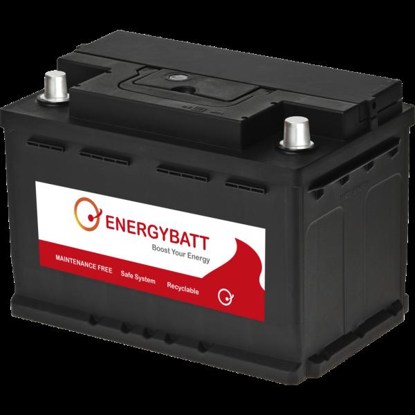 Batería Energybatt EBL374680I. 12V - 74Ah/680A (EN) Caja L3 (277x174x190mm)