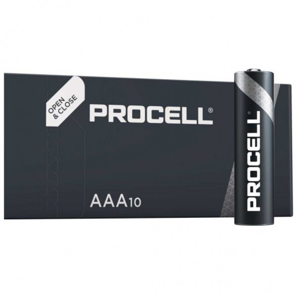 Pila Duracell Procell Aaa - 10 Ud 1,5V