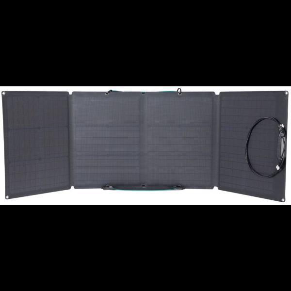 EcoFlow Panel Solar 110W con bolsa para transportarlo