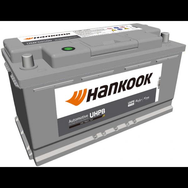 Batería Hankook UMF60500. 12V - 105Ah/850A (EN) Caja L5 (354x174x190mm)