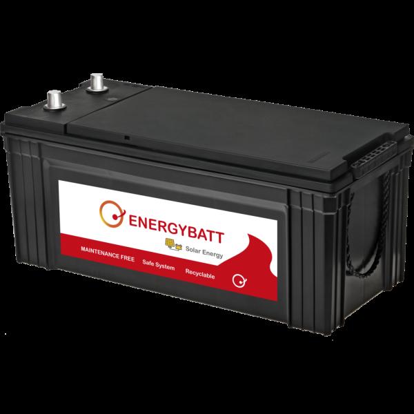 Batería Energybatt Solar EB200. 12V - 200Ah Caja G51 (506x212x210mm)