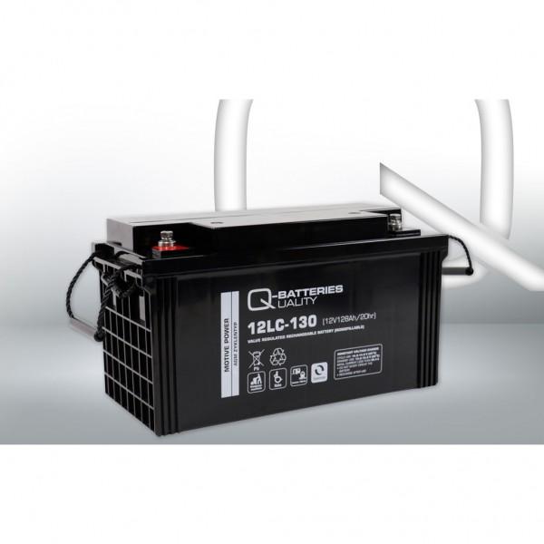 Batería Qbatteries Agm Deep Cycle Battery 12LC-130. Tecnología AGM. 12V - 128Ah (407x177x225mm)
