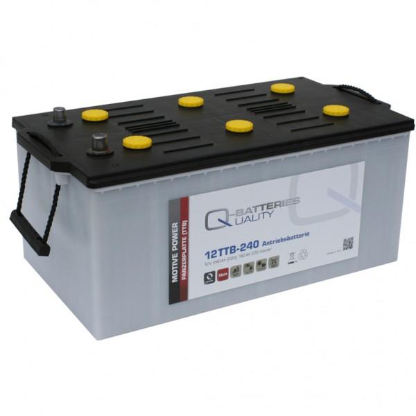 Batería Qbatteries Tubular Plate Battery 12TTB-240. 12V - 240Ah (517x270x240mm)