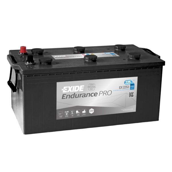 Batería Exide Strong Pro EX2253. Tecnología EFB. 12V - 225Ah/1100A (EN) (518x279x240mm)