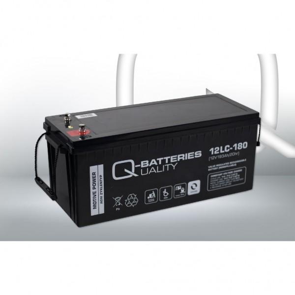 Batería Qbatteries Agm Deep Cycle Battery 12LC-180. Tecnología AGM. 12V - 193Ah (530x209x214mm)