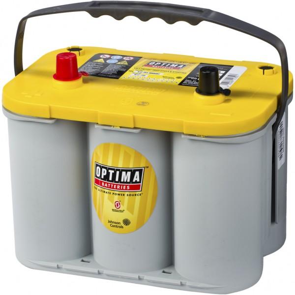 Batería Optima Yellowtop YTS-4.2. 12V - 55Ah/765A (EN) (254x172x173mm)