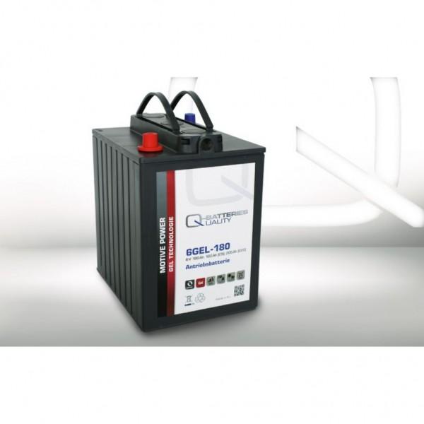 Batería Qbatteries Gel Traction Battery 6GEL-180. Tecnología GEL. 6V (242x190x275mm)