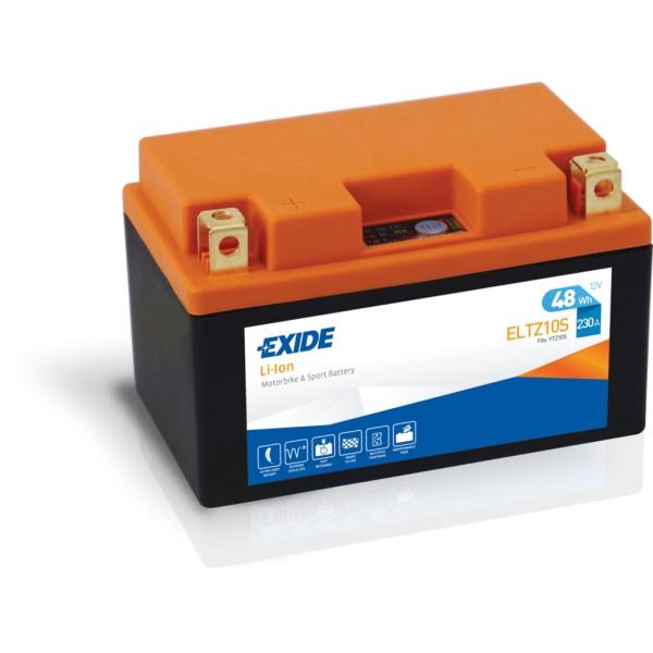 Batería Exide-Litio ELTZ10S. 12V - 4Ah/230A (EN) (150x87x93mm)