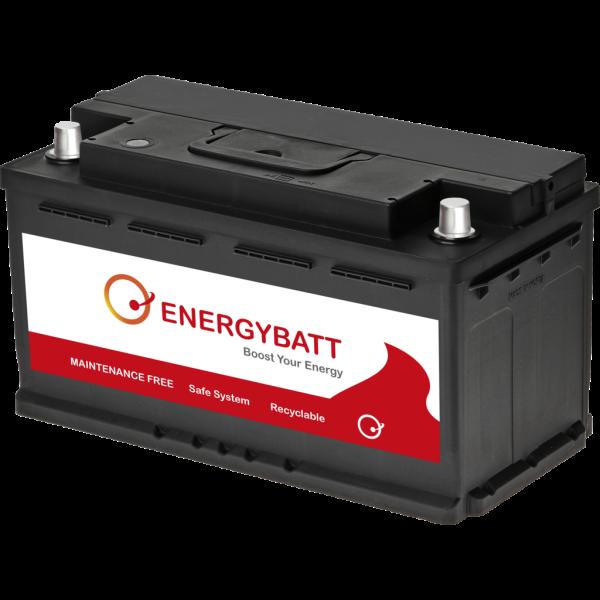 Batería Energybatt EBL595760D. 12V - 95Ah/760A (EN) Caja L5 (354x174x191mm)