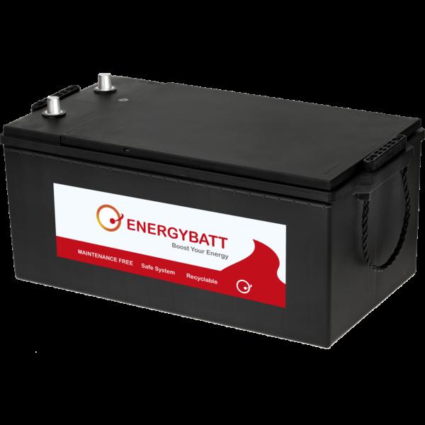 Batería Energybatt Caja Industrial EBC2201200I. 12V - 220Ah/1200A (EN) (509x274x218mm)