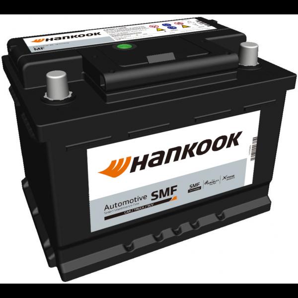 Batería Hankook MF55459. 12V - 54Ah/480A (EN) Caja LB2 (242x174x175mm)