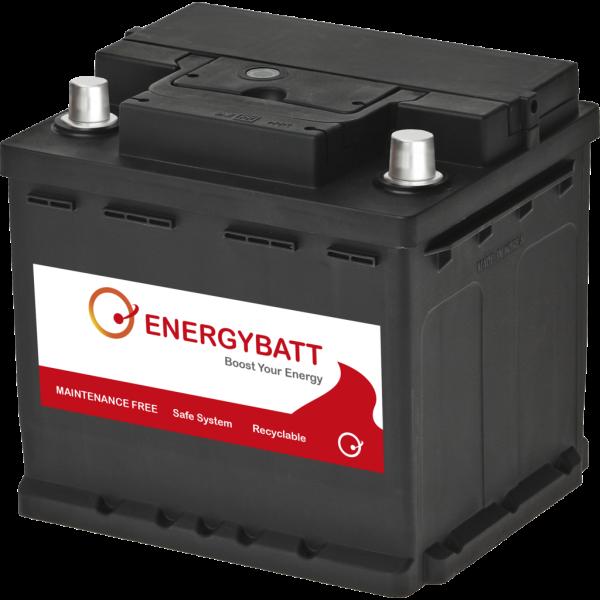 Batería Energybatt EBL145360D. 12V - 45Ah/360A (EN) Caja L1 (208x173x190mm)