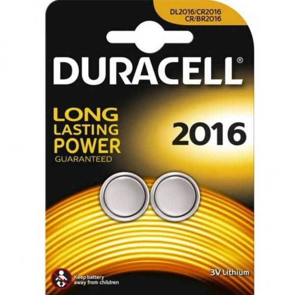 Pila Duracell Cr2016 - 2 Ud 3V
