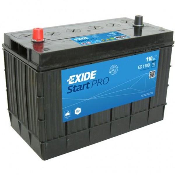 Batería Exide Start Pro EG110B. 12V - 110Ah/950A (EN) Caja M31 (330x173x240mm)