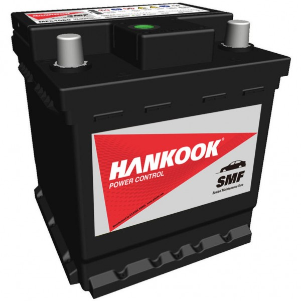 Batería Hankook MF54080. 12V - 40Ah/340A (EN) Caja L0 (174x174x190mm)