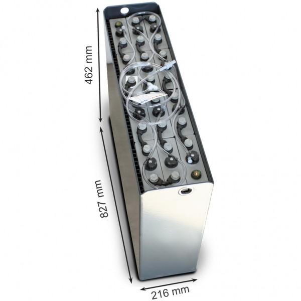 Batería Neutro 24-3PZS240-827X216X462. 24V (827x216x462mm)