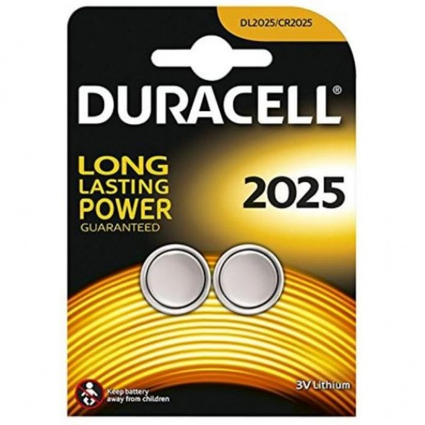 Pila Duracell Cr2025 - 2 Ud 3V