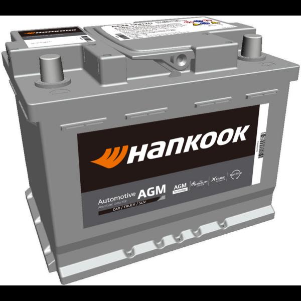 Batería Hankook AGM56020. 12V - 60Ah/680A (EN) Caja L2 (241x174x190mm)