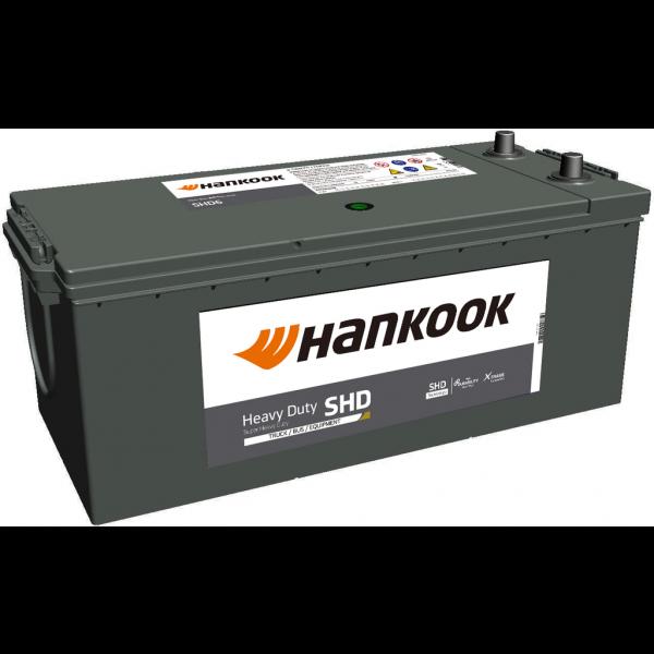 Batería Hankook SHD68032. 12V - 180Ah/1000A (EN) Caja B (511x222x195mm)