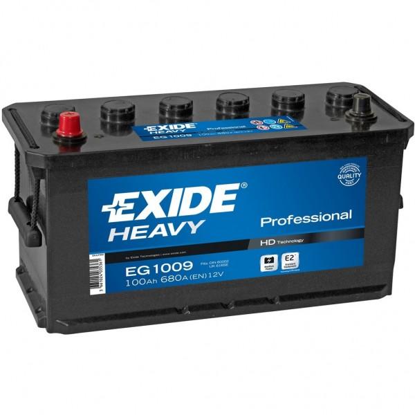 Batería Exide Start Pro EG1109. 12V - 110Ah/800A (EN) Caja D01 (413x175x220mm)