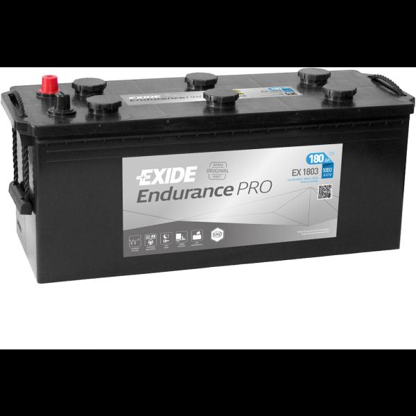 Batería Exide Strong Pro EX1803. Tecnología EFB. 12V - 180Ah/1000A (EN) Caja B (513x223x223mm)