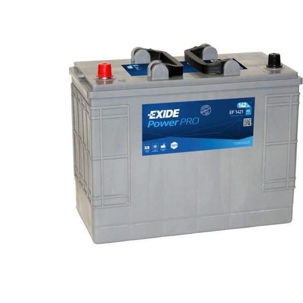 Batería Exide Power Pro EF1421. 12V - 142Ah/850A (EN) (345x175x290mm)