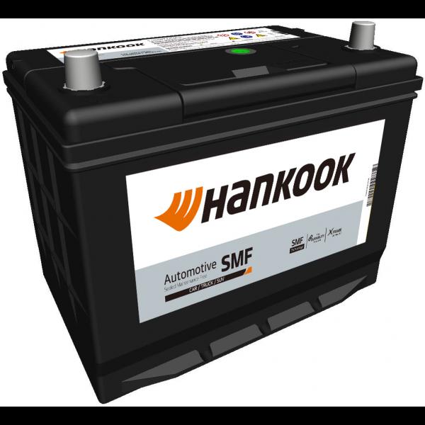 Batería Hankook MF57024. 12V - 70Ah/540A (EN) Caja D26 (266x172x200mm)