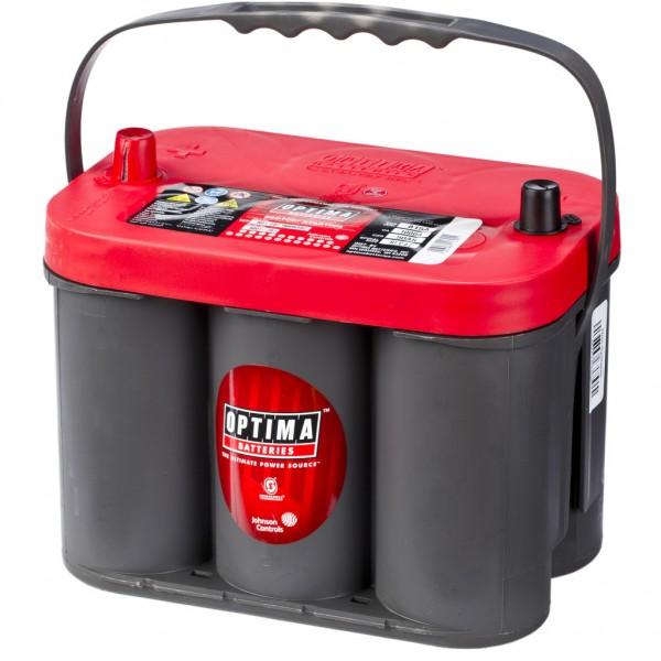 Batería Optima Redtop RTC-4.2. 12V - 50Ah/815A (EN) (254x172x184mm)