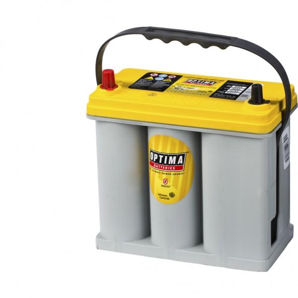 Batería Optima Yellowtop YTS-2.7J. 12V - 38Ah/460A (EN) Caja B24 (237x129x227mm)