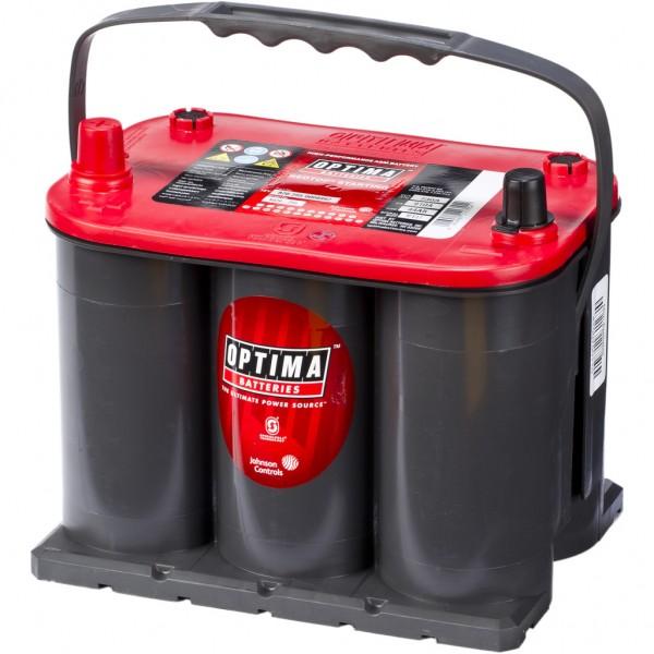 Batería Optima Redtop RTS-3.7. 12V - 44Ah/730A (EN) (237x172x168mm)