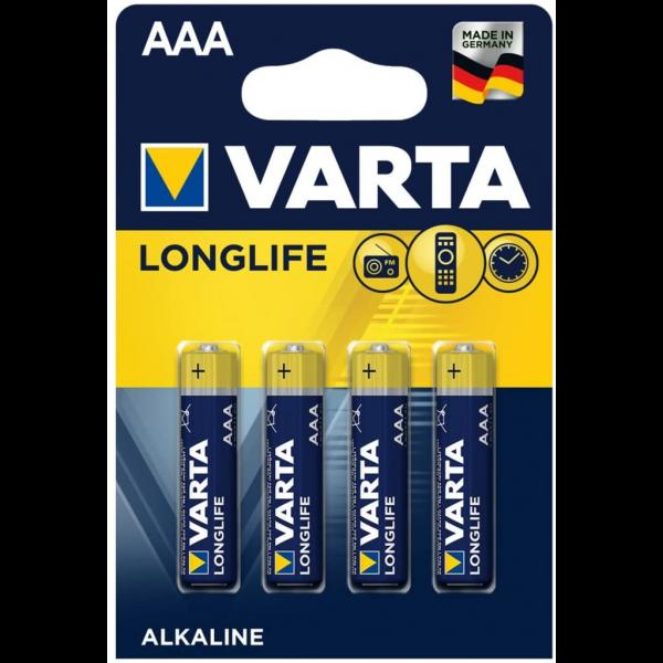 Pila Varta Aaa - 4 Ud 1.5V