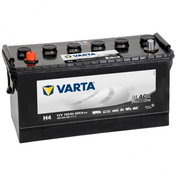 Batería Varta Promotive Black H4. 12V - 100Ah/600A (EN) Caja D01 (413x175x220mm)