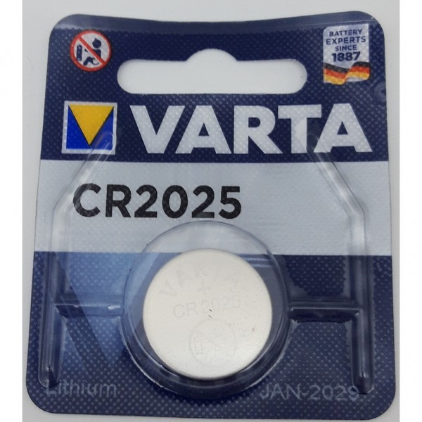 Pila Varta Cr2025 - 1 Ud 3V