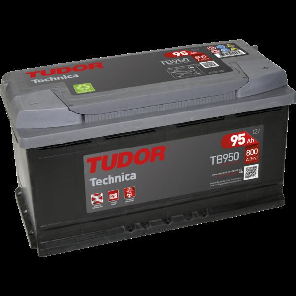 Batería Tudor TB950. 12V - 95Ah/800A (EN) Caja L5 (353x175x190mm)