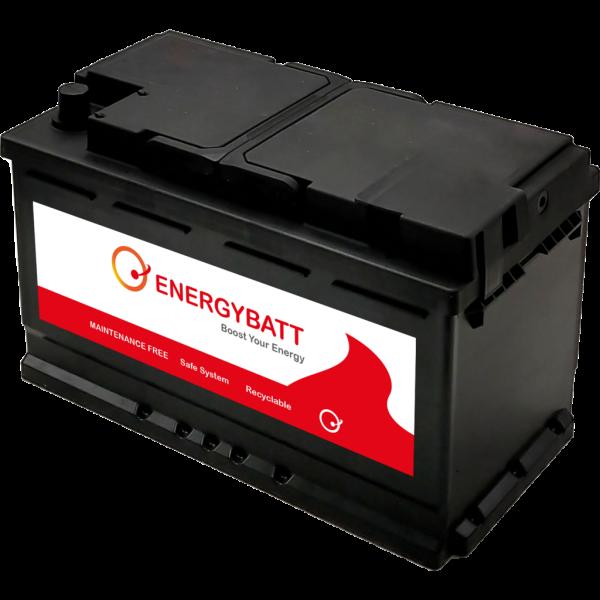 Batería Energybatt Start & Stop EBAGM80800D. Tecnología AGM. 12V - 80Ah/800A (EN) Caja L4 (314x174x1