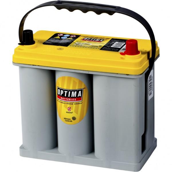Batería Optima Yellowtop YTR-2.7. 12V - 38Ah/460A (EN) Caja B24 (237x129x201mm)