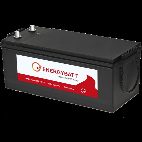 Batería Energybatt Caja Industrial EBB1801000I. 12V - 180Ah/1000A (EN) (513x223x215mm)