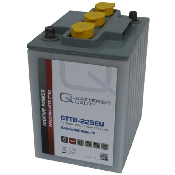 Batería Qbatteries Tubular Plate Battery 6TTB-225EU. 6V - 225Ah (242x190x275mm)