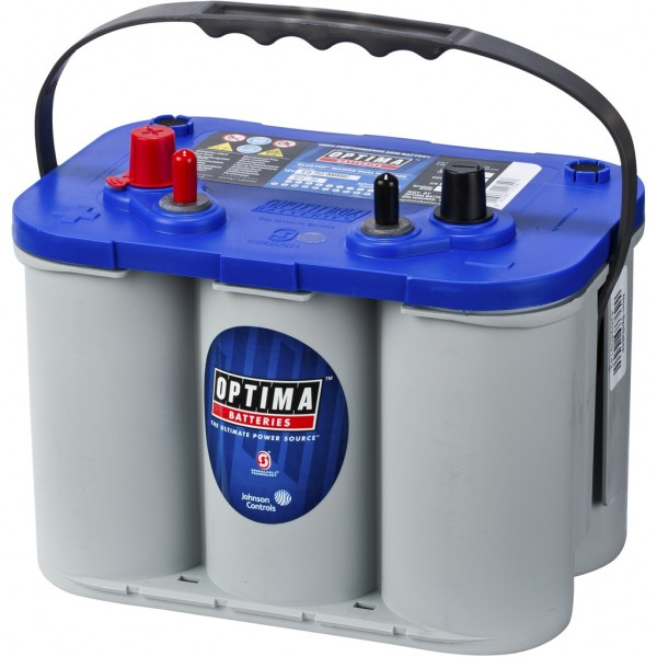 Batería Optima Bluetop BTDC-4.2. 12V - 55Ah/765A (EN) (254x172x173mm)