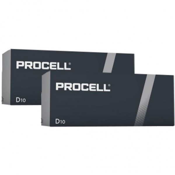 Pila Duracell Procell D - 20 Ud 1,5V