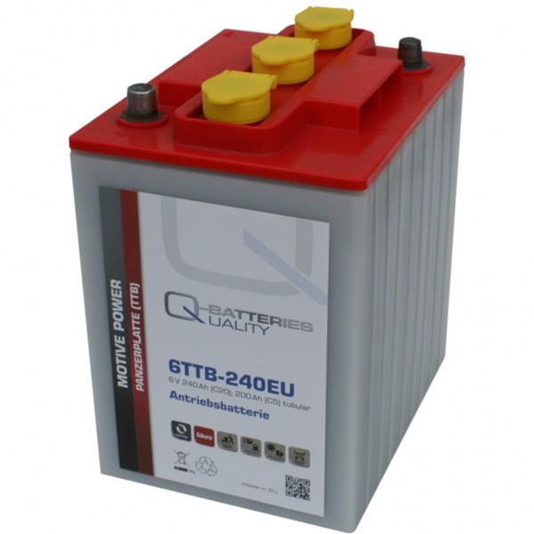 Batería Qbatteries Tubular Plate Battery 6TTB-240EU. 6V - 240Ah (242x190x275mm)