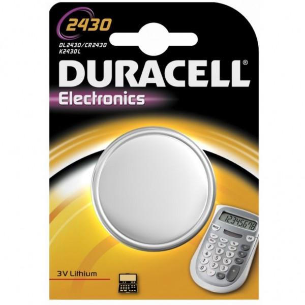 Pila Duracell Cr2430 - 1 Ud 3V
